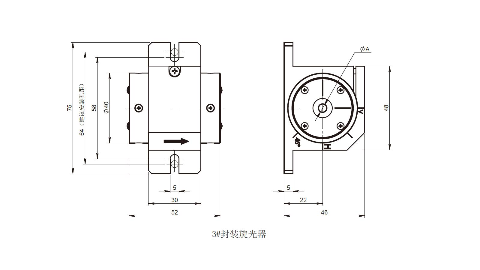 旋光器3号封装南京光宝-CRYLINK